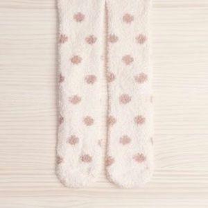 ✨5 for 30✨Polka Dot Fluffy Socks